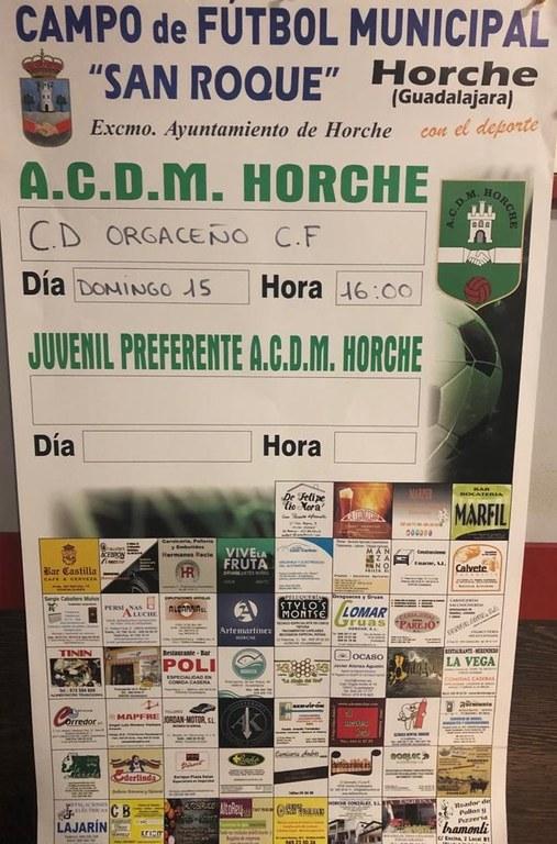 ACDM Horche - CD Orgaceño CF