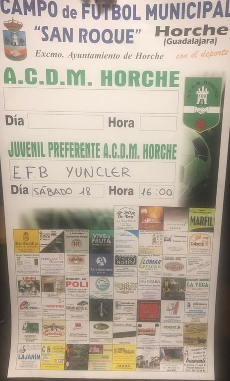 ACDM Horche Juvenil Preferente - EFB Yuncler