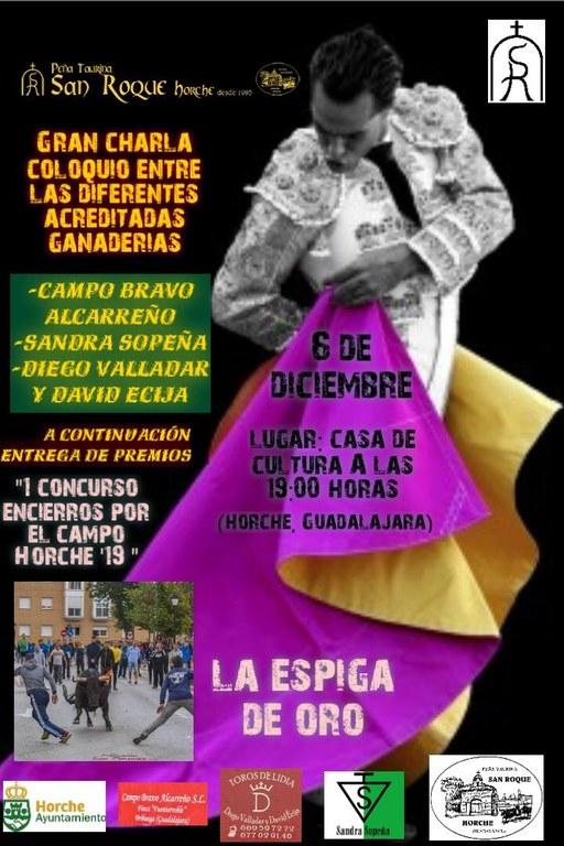 Charla Coloquio y Entrega de Premios Concurso Encierros por el Campo