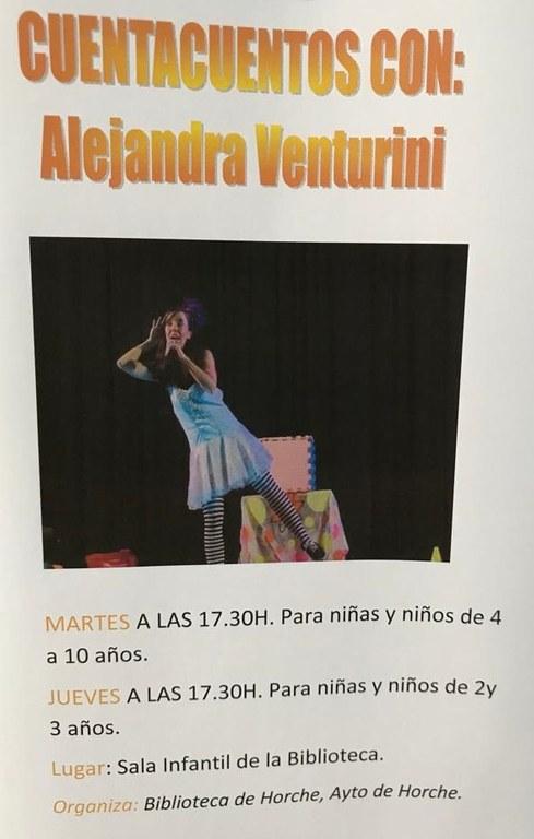 Cuentacuentos con Alejandra Venturini
