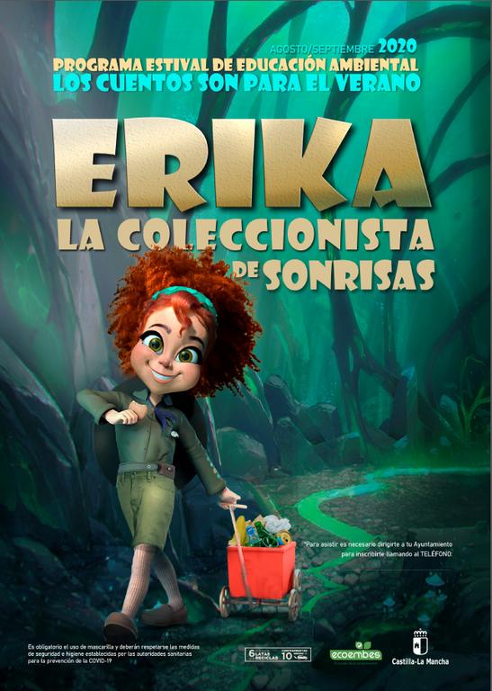 Erika, la coleccionista de sonrisas