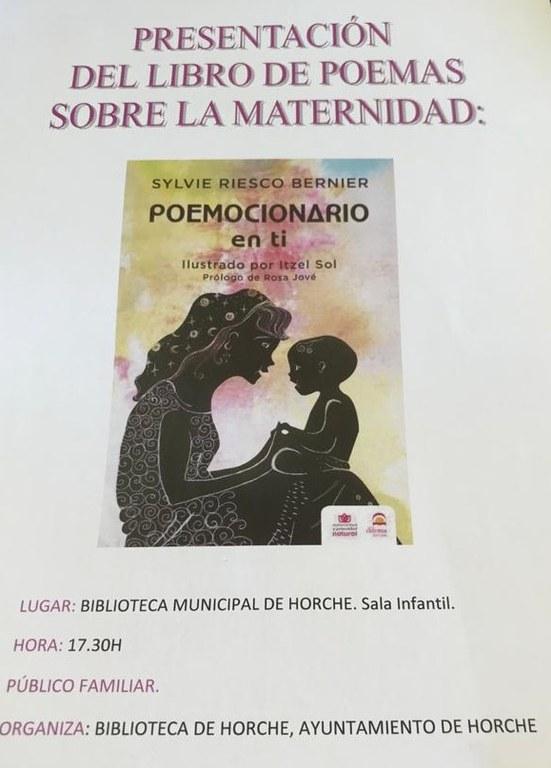 Presentación del libro Poemocionario en ti