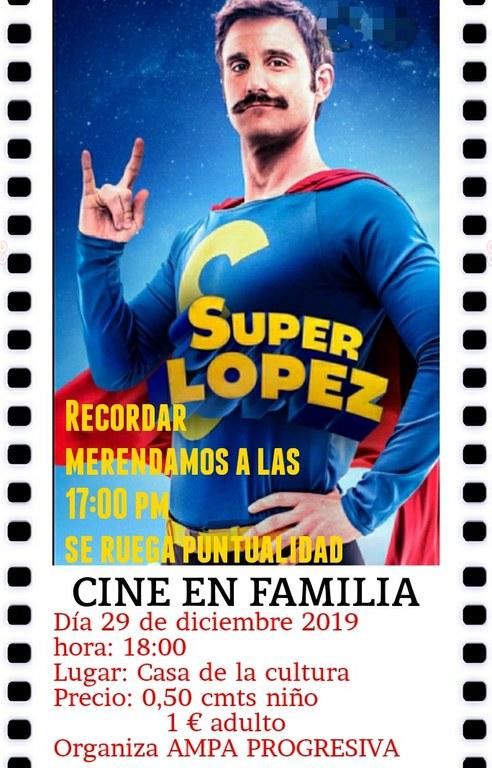 Proyección de la película SuperLópez