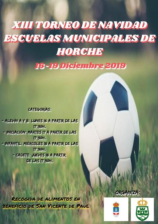 XIII Torneo de Navidad Escuelas Municipales de Horche
