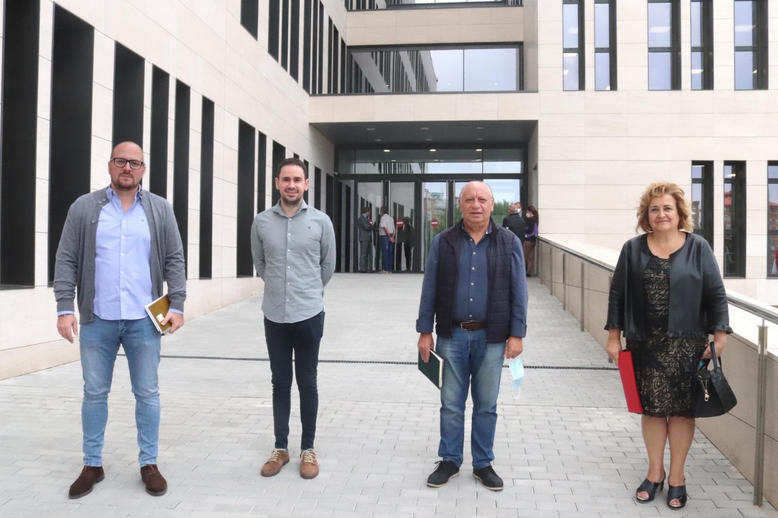 """El alcalde de Horche y otros alcaldes de la provincia piden a la Fiscalía un compromiso firme contra los problemas derivados de la """"okupación"""""""