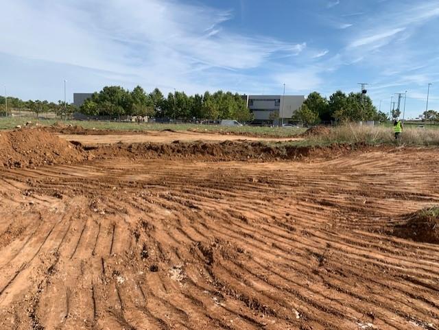 El Ayuntamiento de Horche inicia las obras de un nuevo tanque de tormentas que servirá como parque municipal