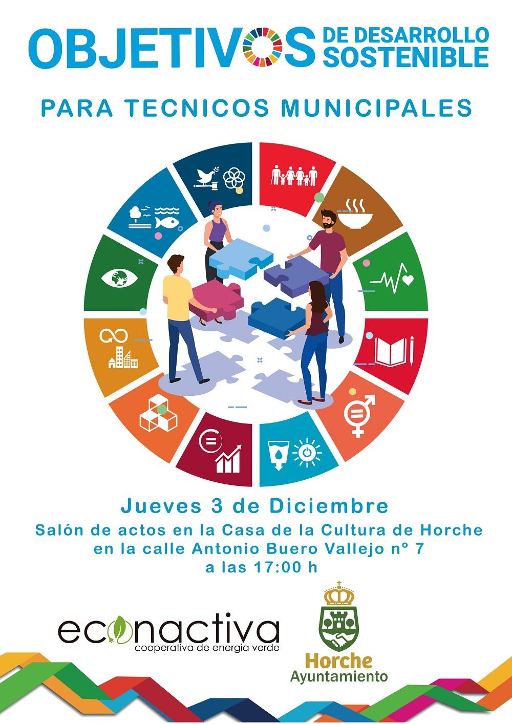 Horche celebra unas jornadas de Objetivos de Desarrollo Sostenible