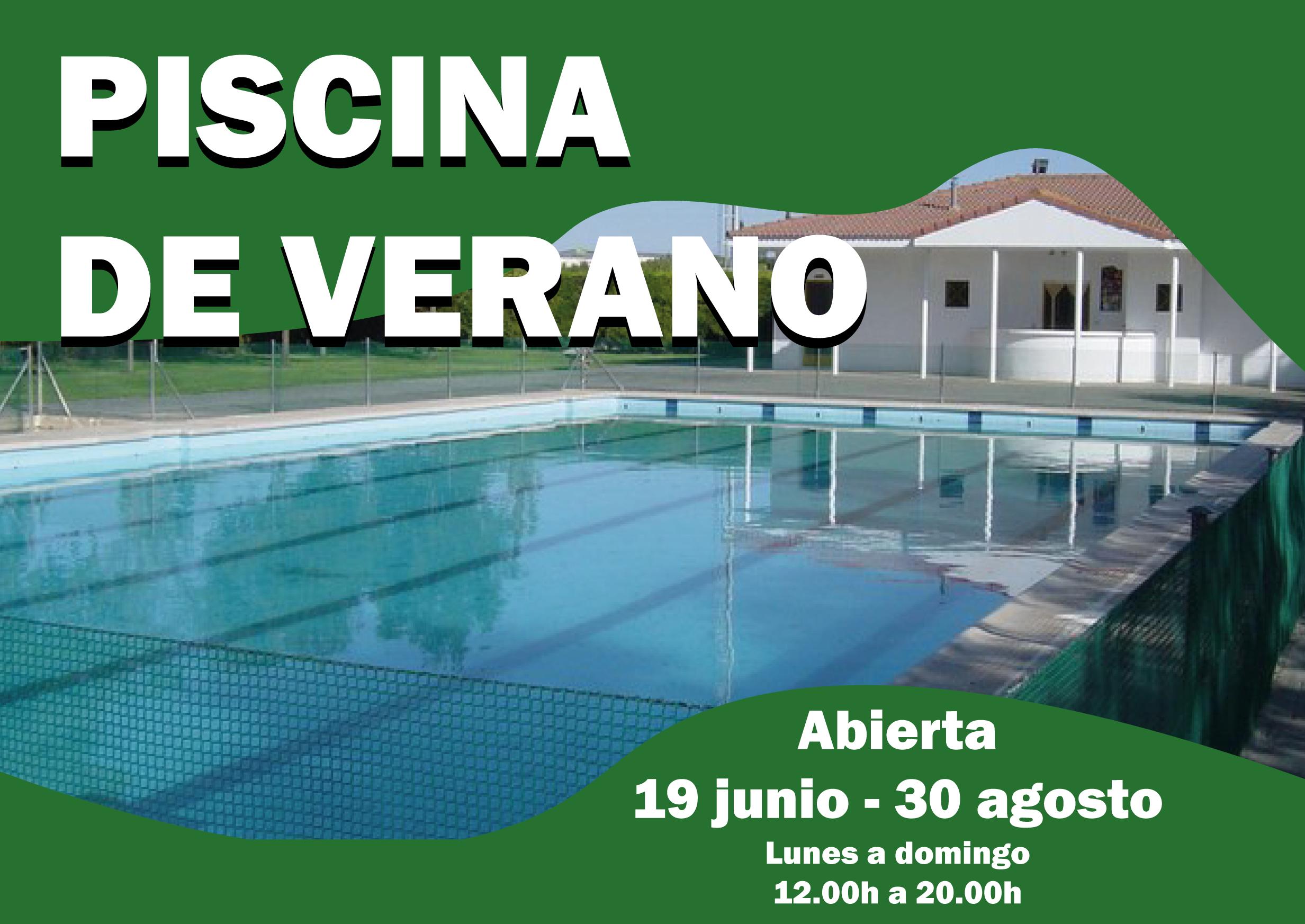 La Piscina Municipal de Verano abre este sábado