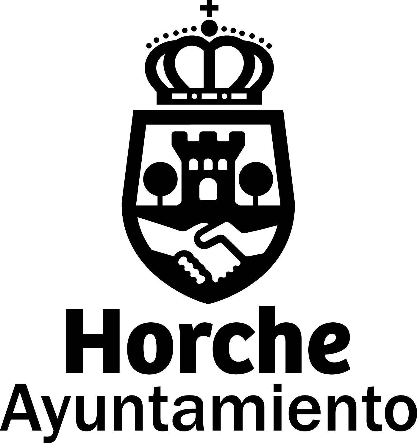 logotipo horche B-N