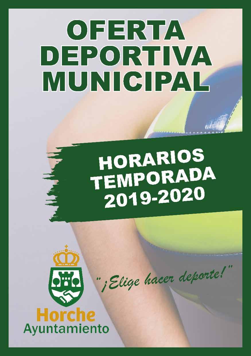 Folleto Horche Escuelas Deportivas 29agosto2019 Pagina 1
