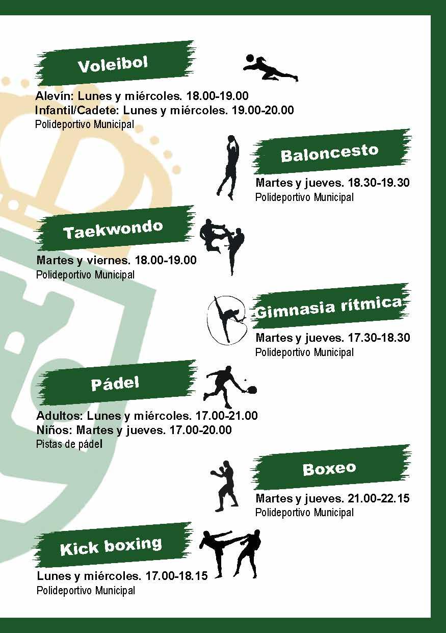 Folleto Horche Escuelas Deportivas 29agosto2019 Pagina 3