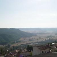 26.negro.panoramica desde la plaza de toros. vega de horche y el monte.jpg